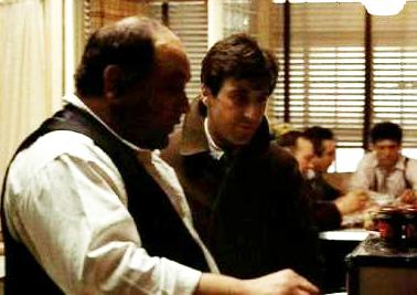 CLEMENZA (Richard Castellano) TEACHES MICHAEL (AL PACINO) How to Make SUNDAY SAUCE alla CLEMENZA